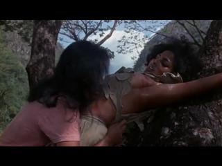"""порка и насилие из фильма """"Женщины в клетках"""" 1971 год - Пэм Гриер (порка бондаж, наси"""
