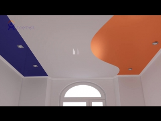 Обзор систем натяжных потолков