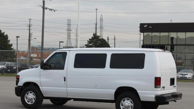 INKAS® Armored Ford E350 Passenger Bus