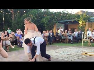 Фантастический свадебный танец