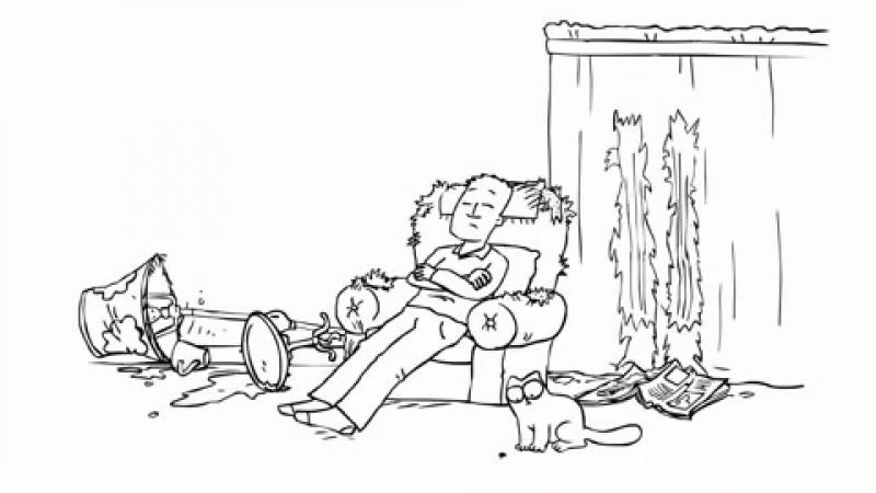 Саймон кот - 3 серия