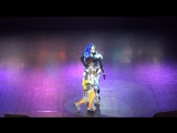 013. Linalia  Енот - Overwatch - Tracer, Sombra