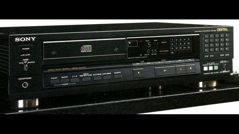 Sony cdp 555 esd