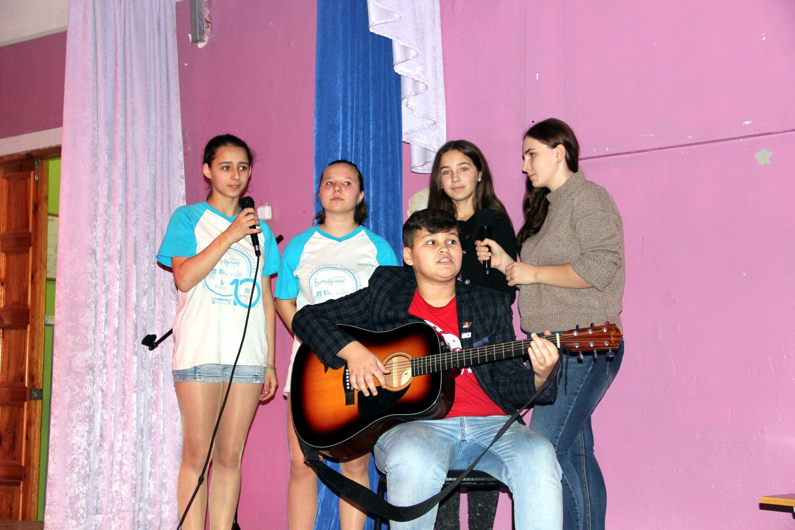Фестиваль «Алло, мы ищем таланты» в МСШИ