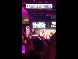 Demi Lovato performing Heart Attack at Cadillac House in New York City