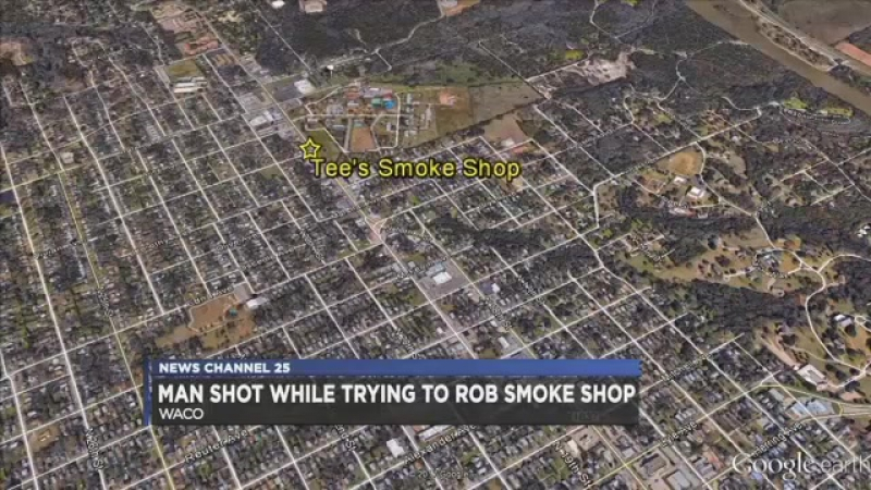 Aggravated Robbery Suspect Gets Smoked by Store Employee in Texas