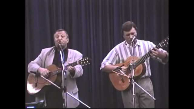 В.Берковский и Д.Богданов в Нью-Йорке(1999)