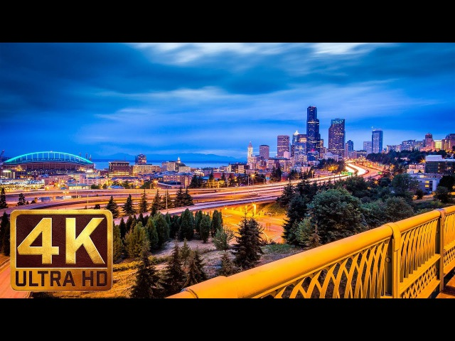 4K Urban Relaxation Video