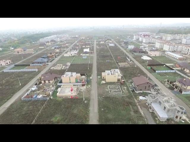 ЖК Андреевский - с высоты птичьего полета на октябрь 2017 года