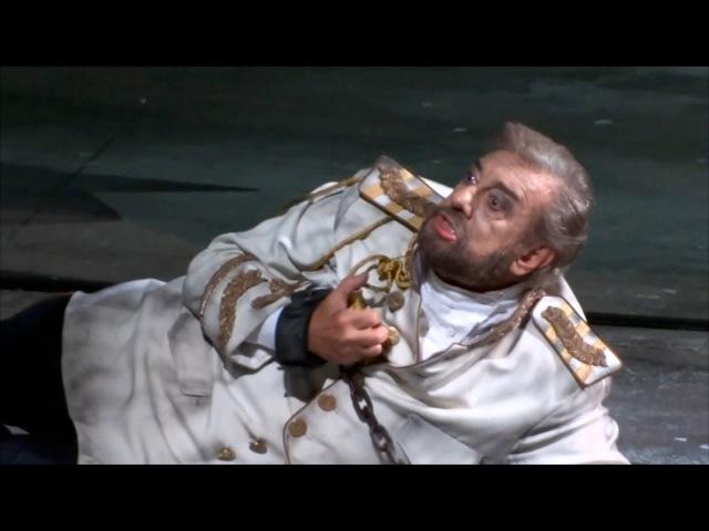 Placido Domingo - Tamerlano: The death of Bajazet