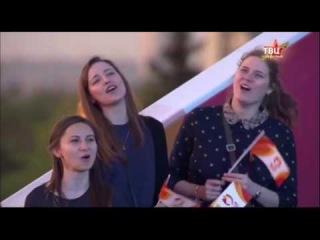 Dенис Клявер и театр-студия Непоседы- Мы, друзья, перелетные птицы. 09.05.2016