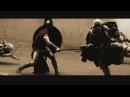 Сражение спартанцев с персами | 300 спартанцев