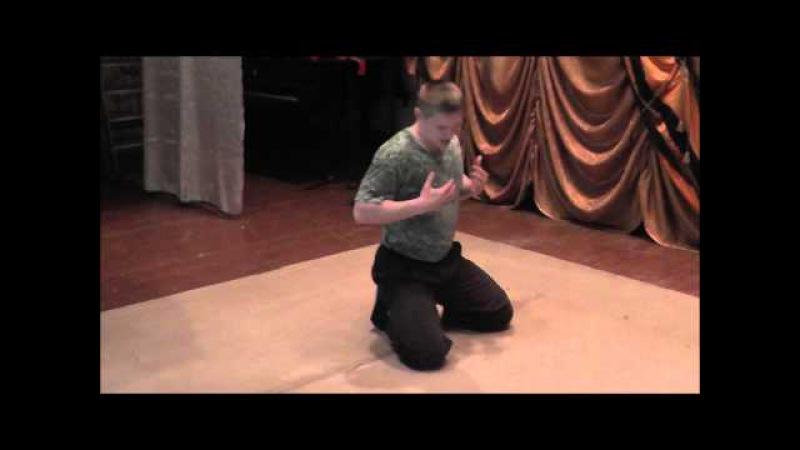 Уроки брэйк-данса часть 4 (гусеница вперёд и назад)