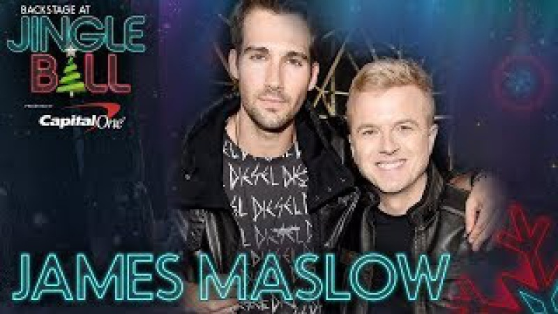 James Maslow's Excited For New Music At KIISJingleBall
