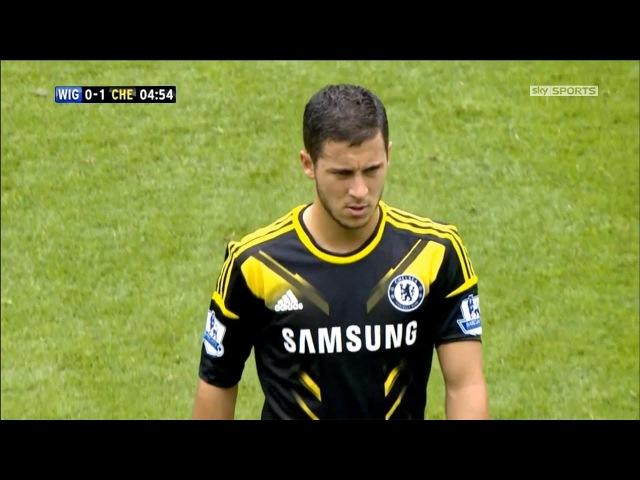 Eden Hazard vs Wigan Athletic F.C. (Chelsea Debut) 19082012 HD 1080i