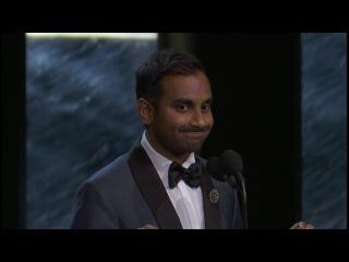 Aziz Ansari Is PISSED About His Britannia Award (Acceptance Speech)
