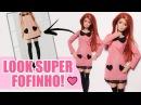 Vestido e Meia Estilo Anime - DIY para Barbie, Monster High e outras Bonecas!