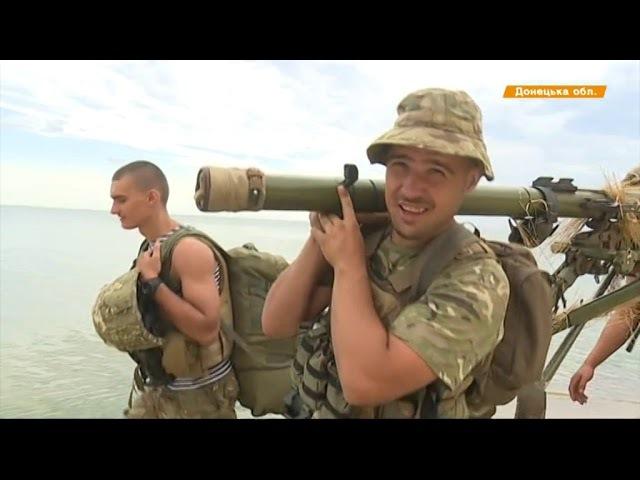 60 км в 50-килограммовой амуниции - как морпехи готовятся к передовой