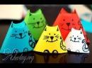 Кошки-матрёшки детские игрушки