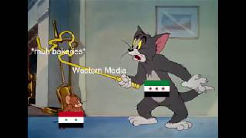 Jerry joins the Syrian army