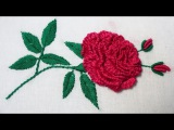 Hand Embroidery Brazilian Embroidery ( Rose )