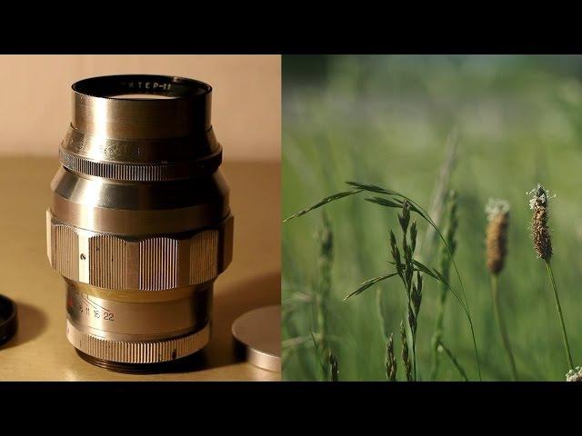 Amazing camera lens Jupiter 11 135mm F4 M42 mount
