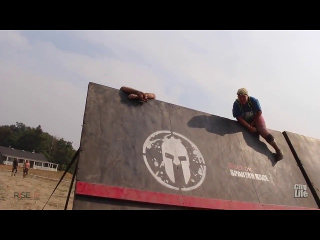 The legless man who completed a 13 mile spartan race