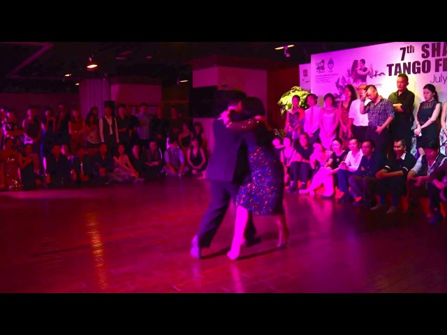 Fernando Sanchez y Ariadna Naveira _1 - 2017 7th Shanghai International Tango Festival