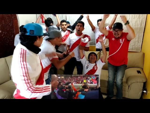 Perú 2 - 0 Nueva Zelanda - 15112017 - Reacciones