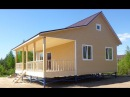 Дом 6 0х9 0м с крыльцом отделка сайдинг Цена 464 500 руб Дома Бани Бытовки в СПб