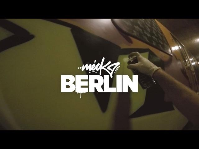Meck / U-bahn Graffiti Berlin
