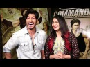 Vidyut Jammwal Adah Sharma's Interview For Commando 2 Movie
