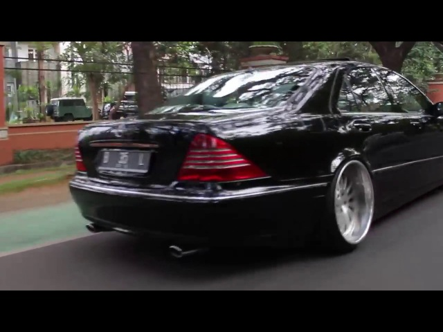 Mercedes Benz W220 stance Redefined it's Class