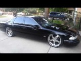 Bagged 96 Impala SS on 22s