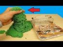 Реакция муравьев на кинетический песок! Почему они это сделали Муха из Китая! alex...