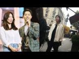 Парочка Сон Джун Ки и Сон Хе Ге отправилась вместе в Париж! ♡♡♡ (Дорама Потомки  ...