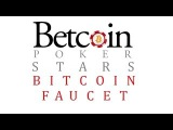 BITCOIN FAUCET *BTC POKER STARS* 150 TO 500 SATOSHI EVERY 60 MINUTES (WITHDRAWALAUDIOSCREEN)