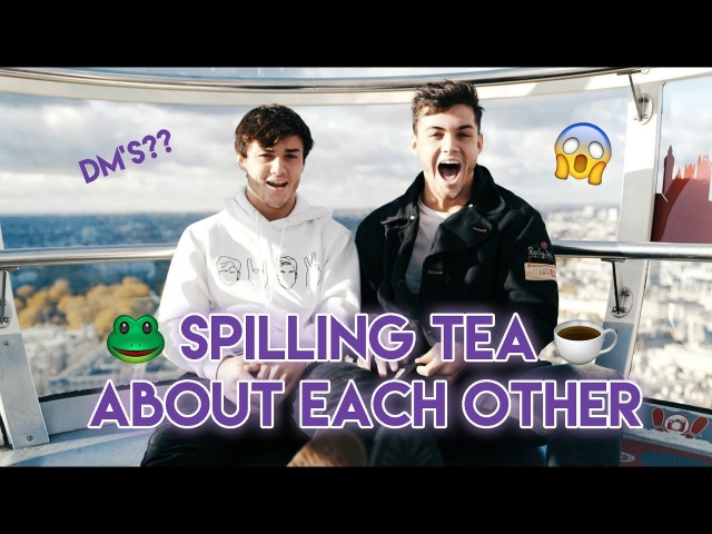 Spilling Tea On Each Other!!