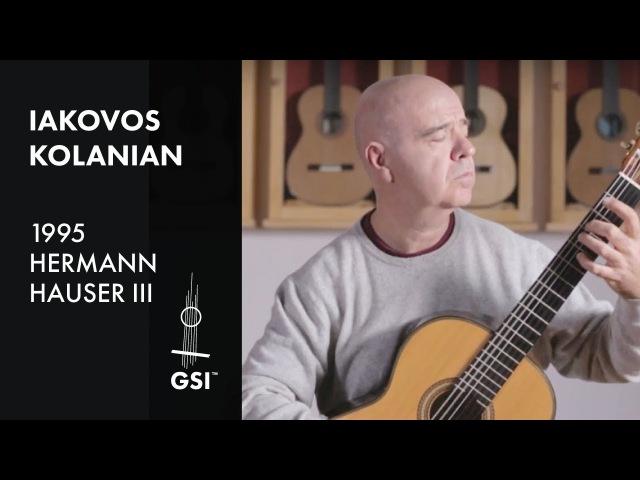 Yaman Yar - Iakovos Kolanian plays 1995 Hauser III