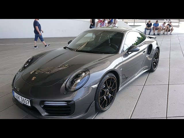 Porsche 911 Turbo S 2018 Драйв за 18 миллионов
