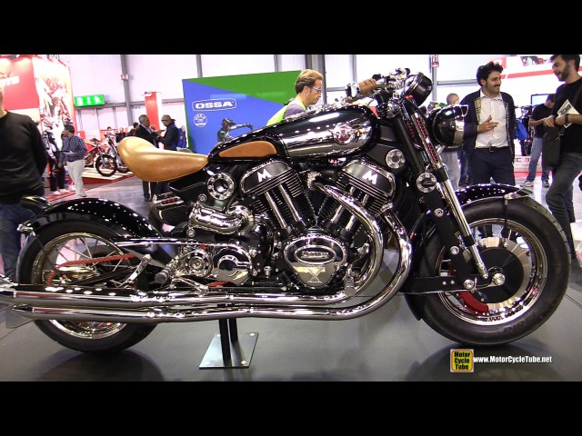 2015 Matchless Model X Reloaded - Walkaround - 2014 EICMA Milan Motorcycle Exhibition