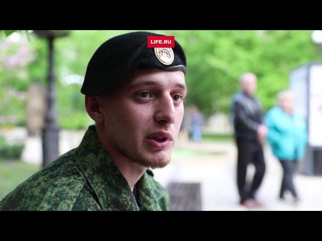 Когда закончится война Рэпер Рем Дигга снял клип в зоне боевых действий