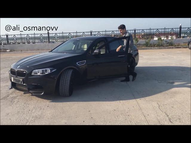 BMW M5 ЧЕЧЕНСКАЯ ЛЕЗГИНКА 2017 ALISHKA LEZGINKA БАКУ ПЛЯЖ (МАДИНА ЮСУПОВА)