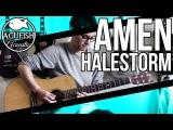 Halestorm - Amen  Acoustic Instrumental Cover