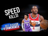 De'Aaron Fox vs John Wall Full PG Duel 2017.10.29 - Wall With 19 Pts, 9  Assists!
