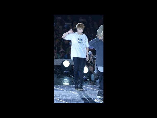 161001 BTS(방탄소년단) 정국 - DOPE(쩔어) 직캠(Fancam) @부산원아시아페스티벌 by bong