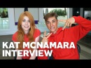 Katherine McNamara Gives RAW Interview