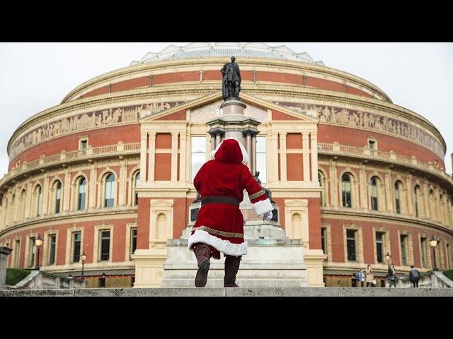 Father Christmas comes to the Hall
