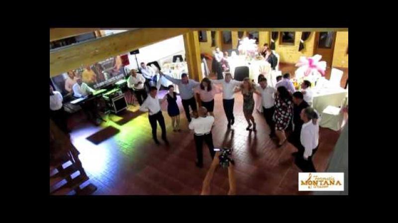 Sarba in Genunchi , acesti dansatori au creat furori pe internet , spectacol cu Formatia MONTANA Bv