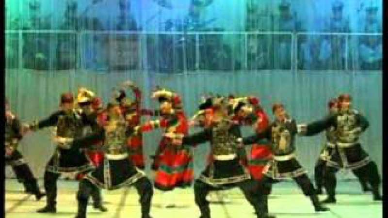 The Tuvan State Ensemble of singing and dancing folk Sayany